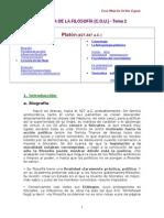Historia de La Filosofía.platón