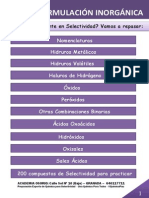 Tema 1. Formulación Inorgánica. Academia