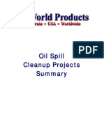 BioWorld Bioremediation Oil Spill Summary