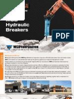 MSB Hydraulic Breakers Catalogue