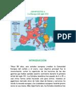 GeopolÍtica La Europa Del Siglo Xxi