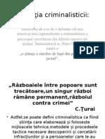 Definiţia-criminalisticii