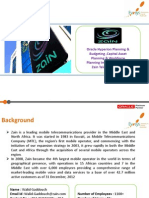 Zain Hyperion Planning & Budggeting Implementation Case Study V1.0