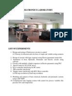 Mechatronics Laboratory 1