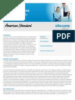 Sita Corp American Standard Casestudy