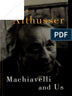 Althusser (2001) Machiavelli and Us