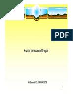 Essai pressiométrique