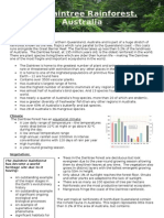 Tropical Rainforest - Daintree Rainforest Case Study