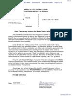 PENALOZA v. STOSHACK - Document No. 3
