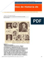 Documentos de Historia de España  Causa General