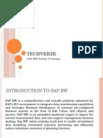 SAP BW Online Training