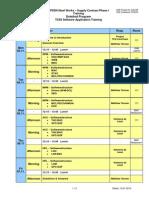 EPSSN-SPM_01!06!01-05 Training Plan TCS5 Software Application
