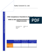 Complete Internal Audit Checklist (HSE)