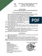 Quyết định 70/2014/QĐ-UBND ngày 12/09/2014 về Quy chế quản lý quy hoạch kiến trúc chung thành phố Hà Nội