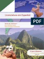 TEORIA DA LITERATURA I