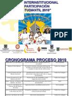 Proceso de Elecciones Estudiantiles 2010