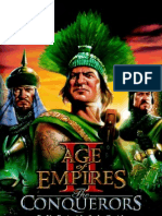 Age of Empires 2 Conquerors manuale ITA