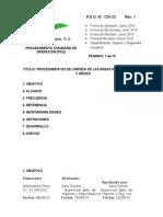 Manual de Mantenimiento de Areas