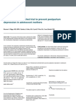 Jurnal Randomized Controlled Trial to Prevent Postpartum Depression in Adolescent Mothers.docx
