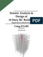 ETABS-Example-RC Building Seismic Load _DESIGN SKILL