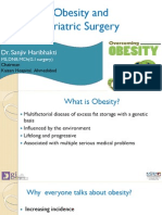 Obesity and Bariatric Surgery by Dr. Sanjiv Haribhakti