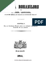 IstoriaRomanilor-A Treboniu Laurian