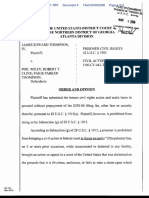 Thompson v. Wiley et al - Document No. 4