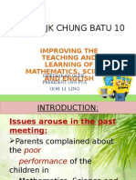 how to improve BI, Science and mathematics