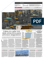 Lima Es Cada Vez Más Atractiva Para Los Jóvenes Migrantes