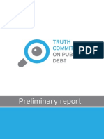 Preliminary Report of the Truth Commission on Public Debt