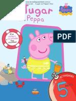Peppa  Pig Libro Actividades Para  5