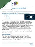 What Are Language Competencies ESL