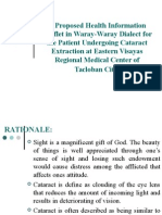 A Proposed Health Information Leaflet in Waray-Waray Dialect.ppt
