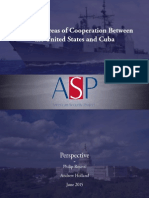 Potential Areas of Cooperation US and Cuba