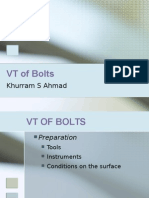 VT of Bolts