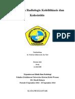 refrat Kolelitiasis-kolesistitis