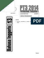 PT3 13 BI Ujian Bertutur PP