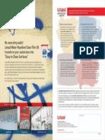 Lotasil WRepellent Clear Film Leaflet(Front&Back)