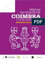 Festas Da Cidade de Coimbra 2015| Dossier de Imprensa