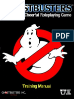 Ghostbusters Rpg Training manual