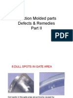 InInjection Molded PartsFaults&Remedies PartII