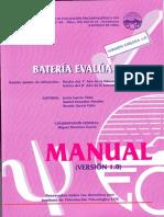 test evalua manual