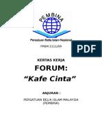 Kertas Kerja Forum Kafe Cinta
