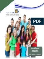Carizon Annual Report 2014 2015