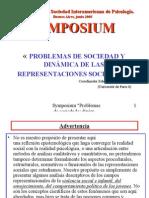 Symposium Congreso SIP BA 2005