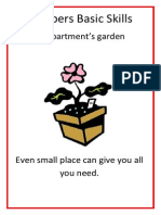 Preppers Basic Skills - An Apartments Garden
