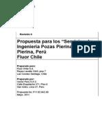 Fluor, Propuesta Ing Detalle Pozas de Procesos Pierina Rev C