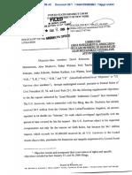 In Re Holocaust Victim Assets Litigation regarding the   Application of Burt Neuborne for counsel fees - Document No. 30