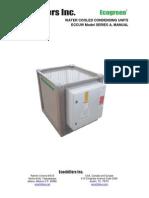 coensadoras ECCUW Manual Servicio y Operacion v3.0