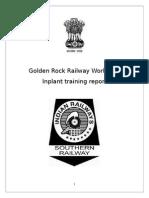 Railway workshop Report